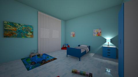 toddlers room - Kids room  - by niya04