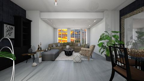 333 - Modern - Living room  - by miyase