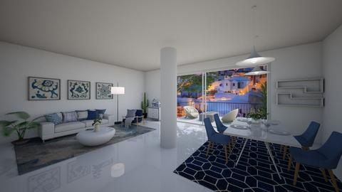 Greek living room - Modern - Living room  - by ana pogorelec