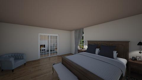 Mansion master bedroom - Bedroom - by gmm3267