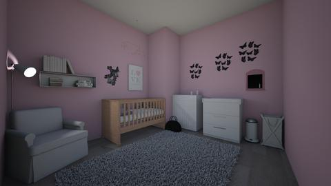 Pink Baby - Bedroom - by mady_06
