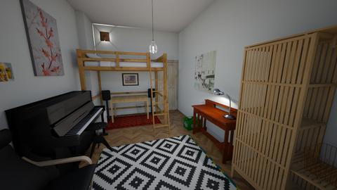 zimmer3 - Bedroom  - by oddbeam