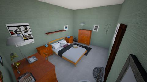 Amy - Rustic - Bedroom  - by interiordesignmajor013