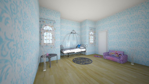 princess - Modern - Kids room - by Tiana BOYCE