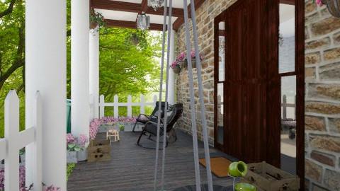porch - Garden  - by CHARLOTTE06