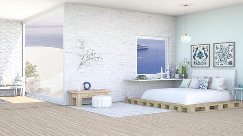 modern greek bedroom - by iope