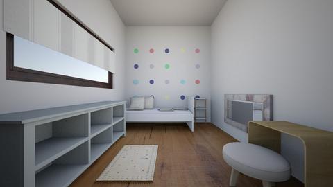 cuarto gael - Minimal - Kids room  - by nenaor