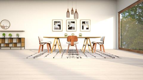 warmth - Retro - Dining room  - by YourSisterTho