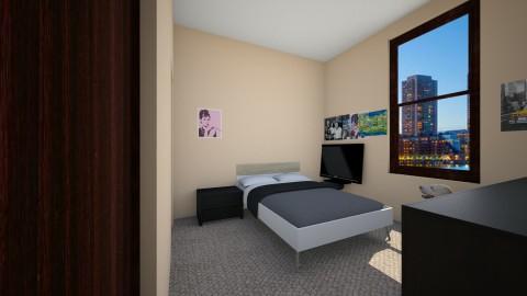 my tiny bedroom - Modern - by tatiana smith_934