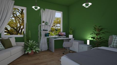 Plant Mom Student Room - Office  - by Loca910