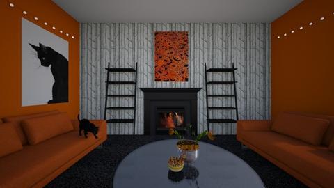 Halloween Challenge - Living room  - by nilssel