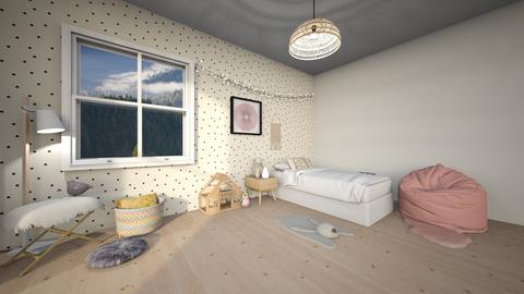 Girls Room - Kids room - by artsy_naturelover