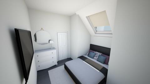 Attic Room  - Modern - Bedroom  - by El2002