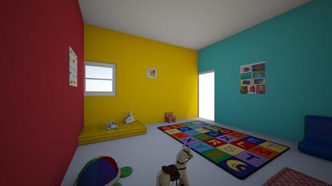 preschool room - Modern - Kids room  - by kmw2003