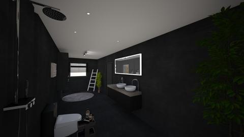 Badkamer 2 23_04_2021 - Modern - Bathroom  - by Rosalie21