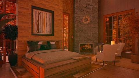 Autumn Bedroom - Country - Bedroom  - by Sue Bonstra