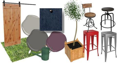 Industrial patio - by CristinaMorariu