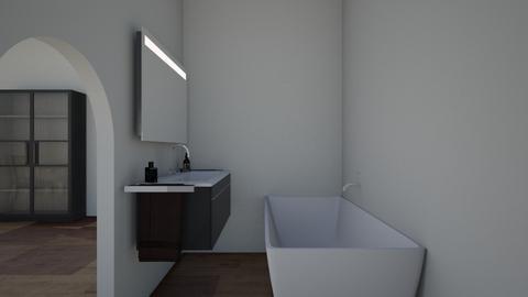 proyecto informatica 3 - Bathroom  - by luquino1609