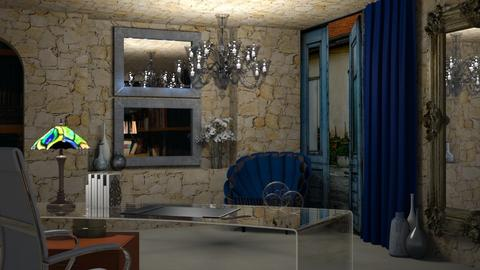 Azul - Eclectic - Office  - by LuzMa HL