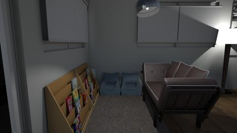 Design Challenge 2 - Kids room  - by StephanieSisson