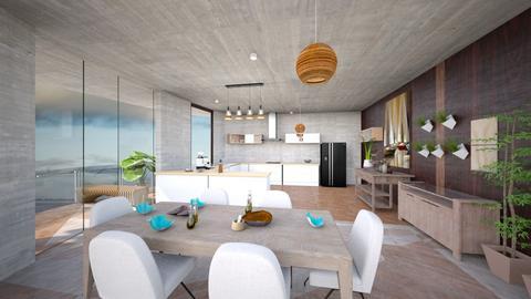 po - Modern - Dining room - by ulrey