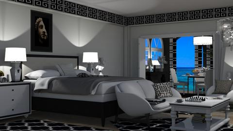 Modern Greek bedroom - Bedroom  - by nat mi