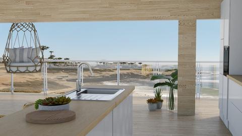 Ocean Kitchen  - Kitchen  - by FANGIRLdesigner