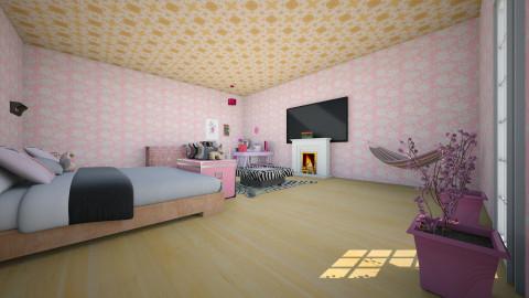Alexis darlings room - Glamour - Bedroom - by ALEXIS DARLING