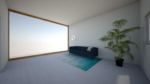 minimalist design  - Minimal - Living room  - by SammiAly