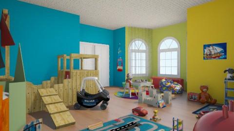 Let s play - Kids room  - by JamieQu