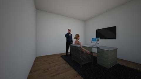 office - Modern - Office  - by lyndenunicorn0526