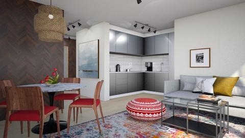 Living for Mister W - Modern - Living room  - by 3rdfloor