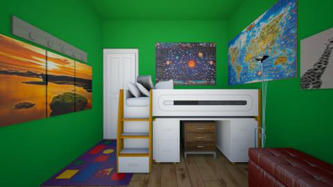 Bedroom design 2 - Classic - Bedroom  - by Michael999