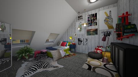 Teen Creativity  - Eclectic - Bedroom  - by Annalise_585333