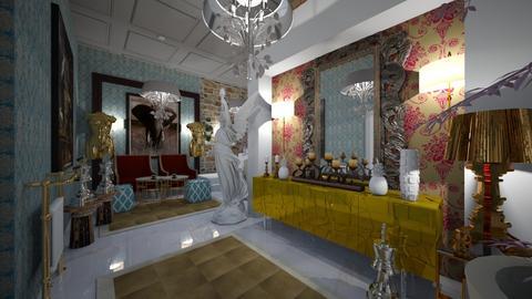 Maximall Hall way - Glamour - Living room - by Nikos Tsokos