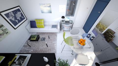 Neutral Minimal Living2 - Minimal - Living room - by fashionistafalida