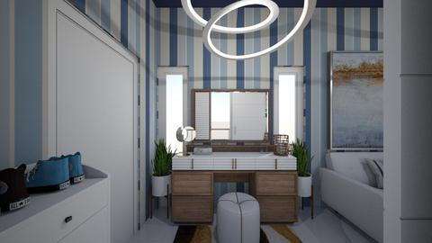 TrueBlue 1 THN - Modern - Bedroom - by tora97