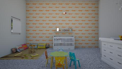 Woodland Nursery - Rustic - Kids room  - by avika