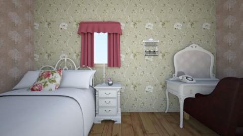 flower - Bedroom - by simplebeds