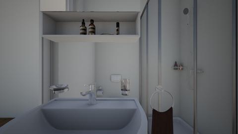 bathroom - by Mary Sutton