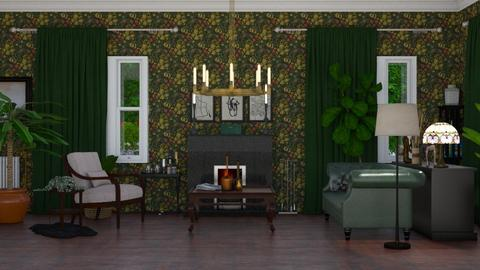 Perth - Vintage - Living room  - by CharlotteCL