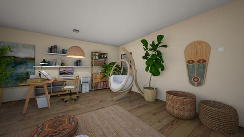 cozy bedroom - Bedroom  - by meriredbika