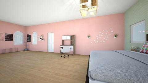 Fashioned DreamerVilliage - Glamour - Bedroom  - by VishIsh