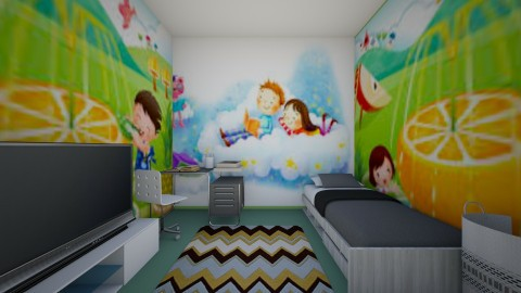 i tried - Country - Kids room  - by BlacBree