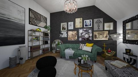 maximalist - Living room - by td123