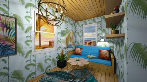 Tropical Beach House - Glamour - by deleted_1582859449_Applestyler