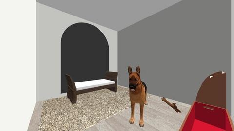 Dog Room - Modern - by baking_potatoes