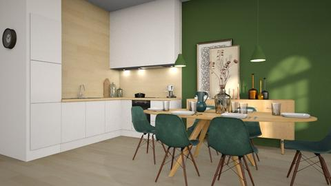 Sundsvall - Minimal - Kitchen  - by Claudia Correia