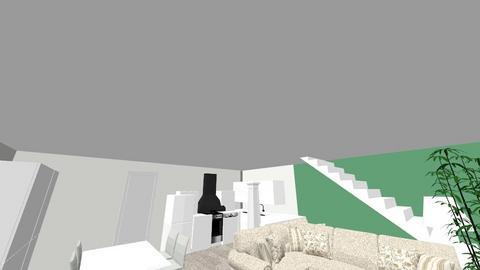 Floor semiopen 3 - Kitchen  - by Sere17