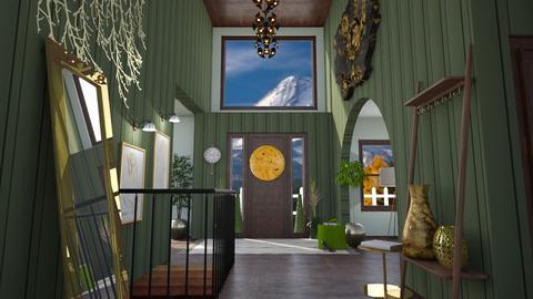 Foyer Tres Chic - Glamour - Garden  - by janAllan